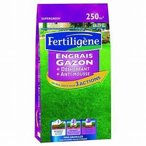 Engrais Desherbant Anti Mousse Gazon : fertiligene engrais gazon desherbant anti mousse prix ~ Dailycaller-alerts.com Idées de Décoration
