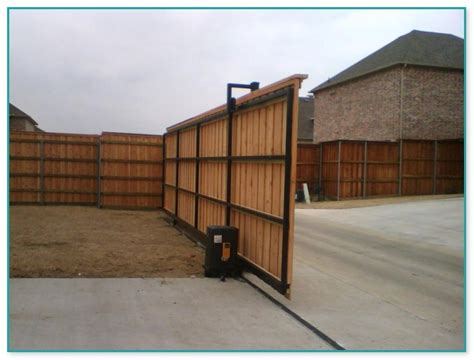 Wooden Fence Gate Kit