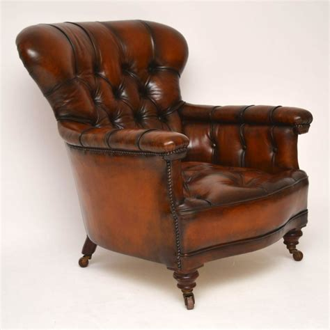 antique leather armchair stunning antique leather armchair marylebone 1286
