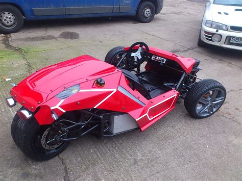 Car With 3 Wheels by Awesome 3 Wheeler Sports Car 163 6 000