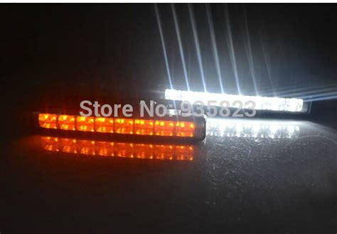 wholesale discount new 2pcs e4 white and yellow 24 led car