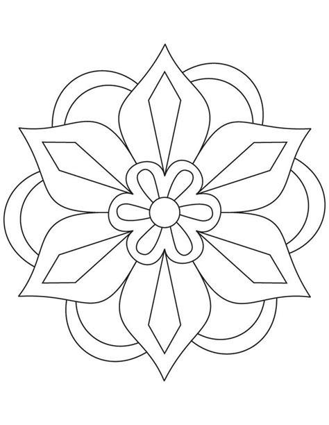 Diwali Rangoli Coloring Pages   Flower rangoli coloring page – franzi lebe   CDs   Mandala