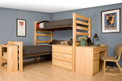student room furniture dorm bed loft kit woodworking projects plans