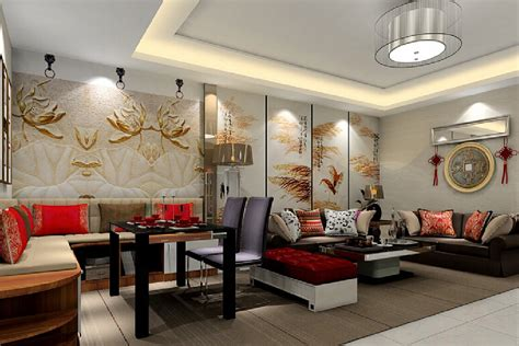 style walls interior design walls in chinese style interior design