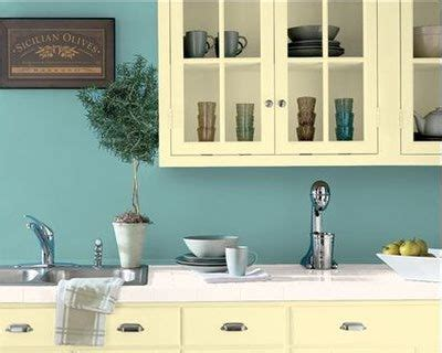 Small Kitchen Design In Yellow Blue Shades by Best 20 Yellow Kitchen Cabinets Ideas On
