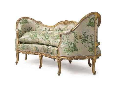 canapé louis xv louis xv giltwood canape en corbeille attributed to