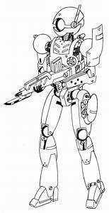 Robot Soldier by PhantasmaStriker on DeviantArt