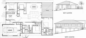 Simple House Design Plan Elevation Section Joy Studio ...