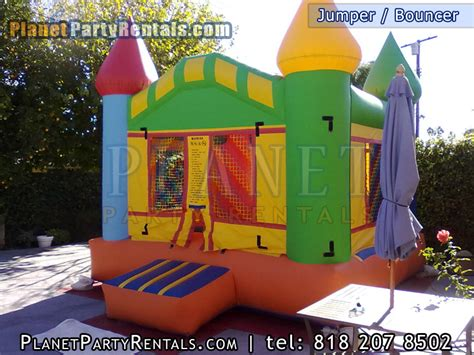jumper bouncer house rental rentals canopy tables