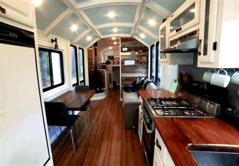 couple renovates  school bus  tiny house  wheels  news wheel