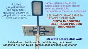 Pju   Lampu Led Indonesia  Pju Tenaga Surya Solar Harga Murah