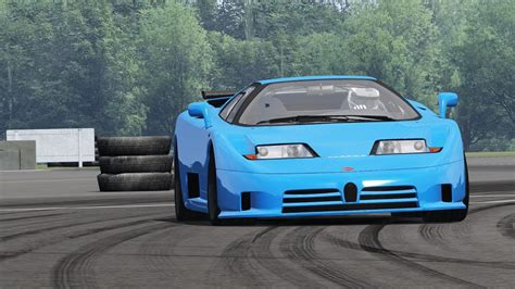 Bugatti Eb110 Super Sport / Top Gear Test Track / Assetto