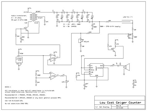 Geiger Counter Project