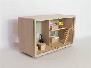 Jouet Bois Eco Maison De Poupe Design Meuble