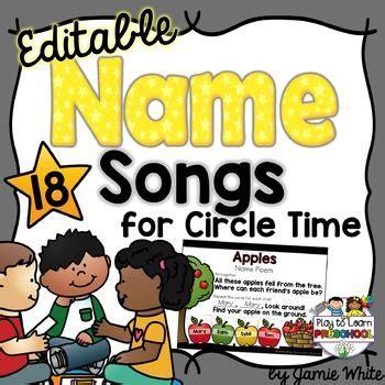 best 25 name songs ideas on circle time songs 527 | 9c0c3fb998918992ea6a7174ed4a1b77 preschool teachers teacher pay teachers