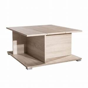 Table Basse Avec Pouf Pas Cher : table basse rangement alcool table de lit ~ Teatrodelosmanantiales.com Idées de Décoration
