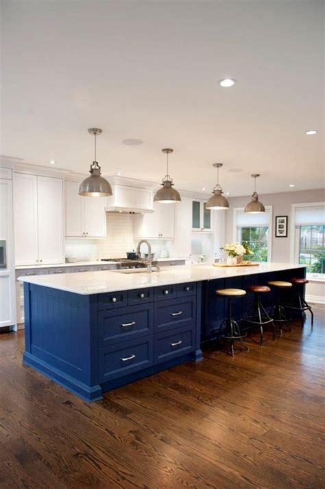 blue kitchen island ideas  pinterest blue