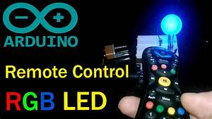 Infrared Remote Controlled Rgb Led