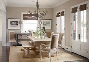20 country french inspired dining room ideas for Kitchen cabinet trends 2018 combined with arts and crafts style wall clock