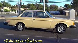 78 Volvo 242 Brick Coupe 242dl 200 Series Dl Classic New Paint Youngtimer Video Review