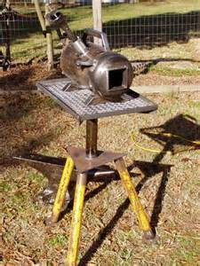DIY Blacksmith Forge Propane