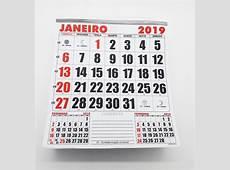 100 Bloco Calendário Comercial 2019 21x22 Refil Kit