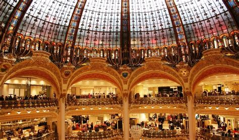 galeries lafayette siege social 4 most department stores in best shopping in