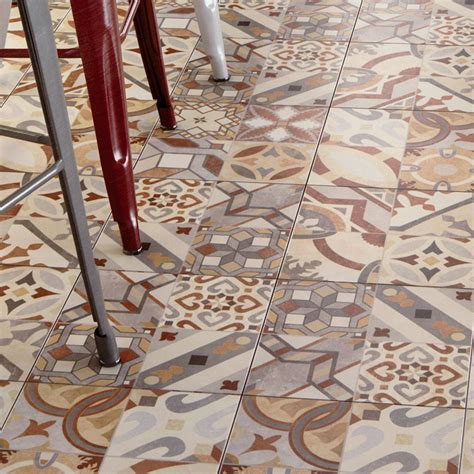 seville patterned tiles   mm victorian plumbing