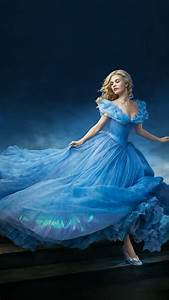 hi57 cinderella dress blue wallpaper