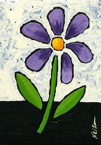 Easy Flowers To Paint For Beginners Images & Pictures ...
