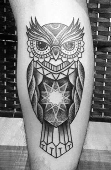 Geometric Tattoos Part 1 - Designs, Ideas and Meanings of Geometric Animal Tattoos - Tattoo Me Now