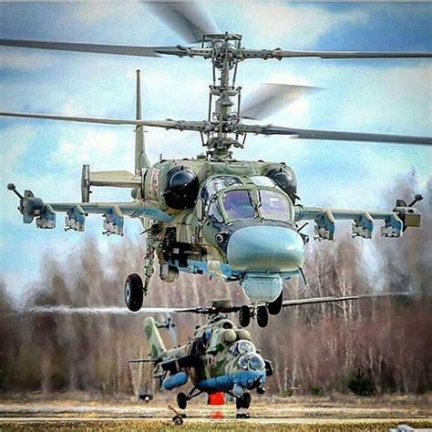 100%™ Kamov Ka-52 Alligator & Mil Mi-35m Crocodile