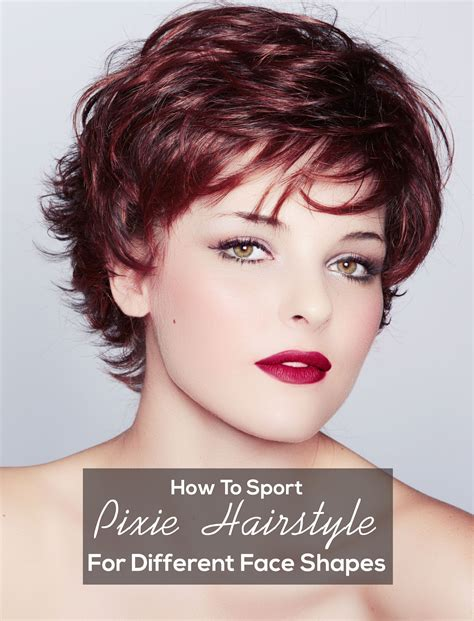 sport pixie hairstyle   face shapes