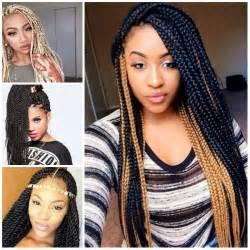 2017 Hairstyle Black Hair Box Braids