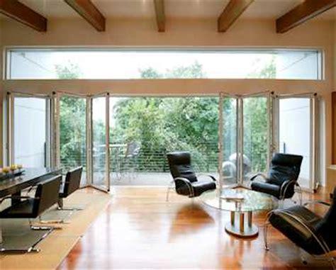 Faltwand Und Falttüren Aus Glas, Aluminium Und Holz
