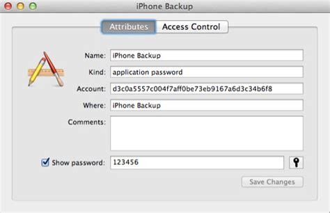 forgot iphone backup password how to recover iphone backup password on mac os x mountain