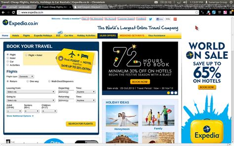 expedia india flight discount coupon