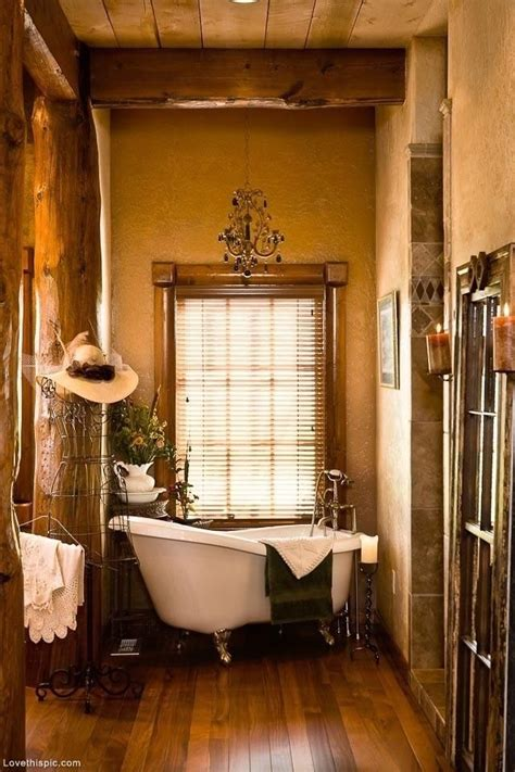 neat style  small bathroom home country inspire tub