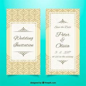 elegant wedding invitation template vector free download With fancy wedding invitations vector