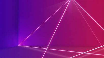 Pink Abstract Purple Lines Neon Wallpapers 4k