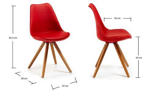 chaise plastique design chaise cuisine moderne