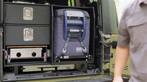 diy jeep drawer system  overland camping