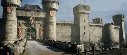 Castle River Scene 3d