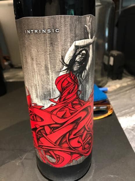 wine intrinsic ct label columbia valley