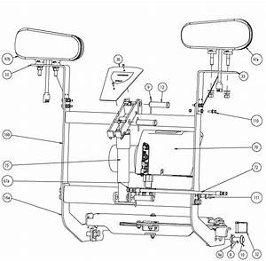 Buyers Snow Dogg Snow Plow Lift Frame Parts