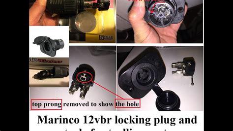 Close Look Marinco Trolling Motor Receptacle Part