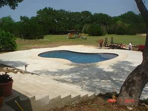 Pool Deck Resurfacing - Our Work - Easter Concrete