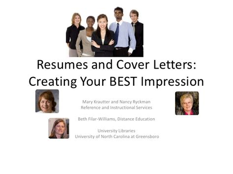 resume  cover letter writing workshop