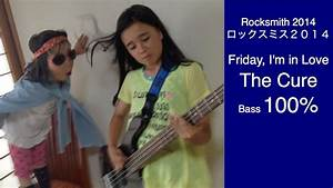 ROCKSMITH Audrey (11) Plays Bass - Friday, I'm in Love ...