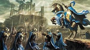 Wallpaper : video games, fantasy art, anime, knight, horse ...
